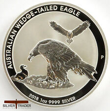 2018 1oz Australian Wedge Tailed Eagle 1 ounce Silver Bullion Coin unc: