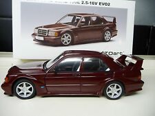 Mercedes  190E 16V 2,5 Evo 2 red Autoart Millenium 1:18 NEW FREE SHIPPING