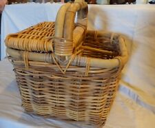 Wicker Basket-Heavy Duty- Wine,Picnic,Cutlery,Decor ,Sewing,Knitting -Nice