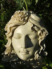 LATEX MOULD MOULDS MOLD.      BEAUTIFUL ANGEL FACE WALL PLAQUE