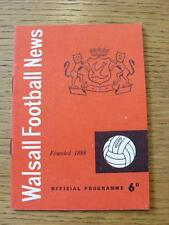 22/04/1966 Walsall v Oldham Athletic  (Item in very good condition, no obvious f