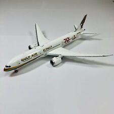 """Phoenix 1/400 Gulf Air Boeing 787-9 70 Years """"Golden Eagle""""  04300"""