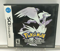 Pokemon: Black Version (Nintendo DS, 2011) Authentic Complete Game Tested! CIB