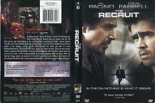 The Recruit (DVD, 2003) Widescreen