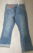Womens Next Crop Flare High Rise Jeans Bnwt Rrp £24 Size Uk 8R