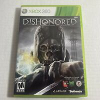 Dishonored Xbox 360 Microsoft Complete Video Game Free Shipping Good Condition