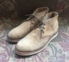 Red Wing 3143 Leather Sand Mohave Chukka Boots Size USA 10 D ||EUR 43 || UK 9