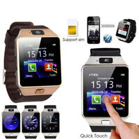 DZ09 Bluetooth Smart Watch Phone Mate GSM SIM For Android iPhone Samsung HTC RDR