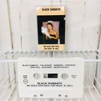 Black Sabbath We Sold Our Soul for Rock N Roll Cassette Tape NECD 101