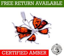 Natürliche Echtschmuck-Halsketten & -Anhänger mit Cabochon-Tiere & Insekten