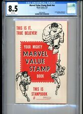 MIGHTY MARVEL VALUE STAMP BOOK CGC GRADED 8.5 1974 MARVEL COMICS WHITE PAGES!
