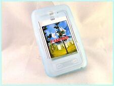Étuis, housses et coques bleu en silicone, caoutchouc, gel pour téléphone mobile et assistant personnel (PDA) Samsung