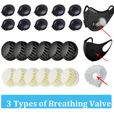 Sport Masks Breathing Valve Cycling Mask Respirator Filter Replacement Parts Lot