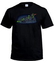 Evolution Of Pickle Rick Men's Comedy T-Shirt
