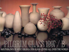 11 Pilgrim Glass Catalogs, 1990s-2000 - special offer!
