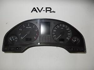 Org Audi A8 4D  Kombiínstrument Tacho Schalttafeleinsatz 4D0919033K 2.8