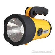 SILVERLINE 222105 LED Rechargeable Li-Ion Spotlight 1W LED