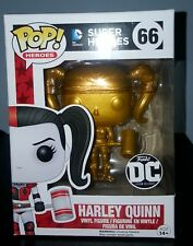 Metallic Gold Harley Quinn mallet Pop Vinyl Figure Funko Custom Exclusive