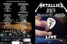 Big 4 - live from the Sonisphere festival, Sofia, Bulgaria 5 CDs + 2 DVDs