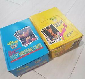 WWF Classic Wrestling Wax Box Series 1 and 2
