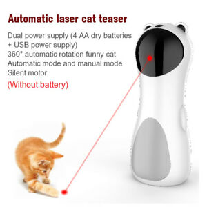 Automatic Cat Laser Toys Funny Handheld Interactive Smart Teasing Pet LED Laser