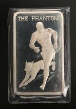 Heroes of Comics The Phantom 1974 .999 PROOF SILVER BAR 1 oz