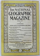 National Geographic Magazine, June 1927 (Vol. 51, No. 6) - Geography of China