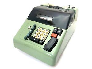 Olivetti Underwood Electrosumma 22 Adding Machine Antique Vtg Calculator