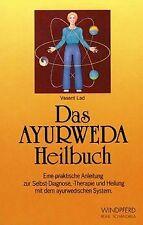 Das Ayurweda Heilbuch von Lad, Vasant   Buch   Zustand gut