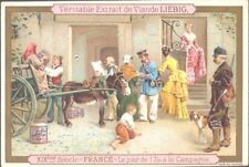 Liebig - Christmas in Different Countries S351 (Fremch) - France - New Year's Da