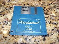 Revelation! Atari St (PC) Game 3.5 Inch Floppy Disc (Near Mint)