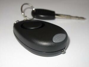 130dB Panic and Emergency Personal Alarm Keychain + LED Light