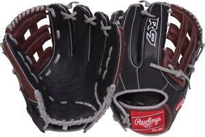 "Rawlings R9315-6BSG 11.75"" R9 Gold Glove Baseball Glove Narrow Fit Youth"