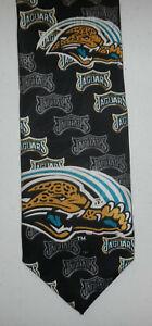 Jacksonville Jaguars Team NFL Football Logo Mens Neck Tie by Ralph Marlin 1997