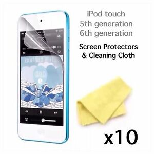 iPod 5th Generation 6th Generation 7th Generation screen protector x10