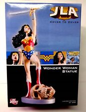Wonder Woman Cover To Cover Limited Edition Statue DC Comics JLA New from 2007