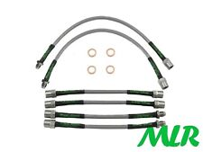 VW MK2 GOLF GTI 16V STAINLESS STEEL BRAIDED BRAKE LINES HOSES PIPES 6 LINE UF