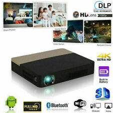 8500 Lumens Android 3D DLP 4K Home Theater Projector Wifi Bluetooth HDMI Cinema