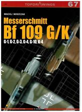 Messerschmitt Bf 109 G/K - TopDrawings, KAGERO + Free Mask Foil *N*E*W*