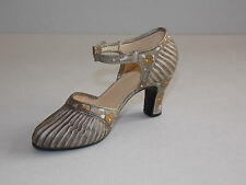 "Just The Right Shoe - Miniature Strap Shoe #25097 - ""Sunray"""