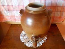 Pot très ancien en grès genre Vinaigrier avec robinet