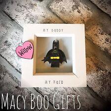 Fathers Day Personalised Gift Present Superhero Batman Dad Daddy Grandad