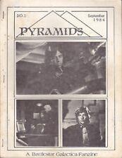 """Battlestar Galactica Fanzine """"Pyramids 1"""" Gen"""