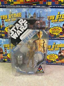 "Star Wars 30th Concept Series 3.75"" Celebration IV McQuarrie R2-D2 & C3PO NIP"