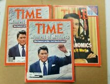 Ronald Reagan Time Magazine Assassination Attempt - April 13, 1981