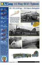 RCAF Typhoons - 1944 to Bodenplatte pt.2 – 1/24 scale Decals 'n Docs + Stencils