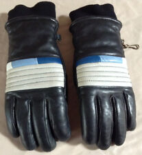 Vintage Womens Leather Ski Gloves Small - High Quality - Made In Japan - Retro