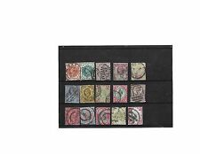 G.B Collection of Queen Victoria stamps 1887-1900 full set Jubilee issue, used
