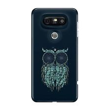 All Seeing Owl Symmetrical Pattern Phone Case Green Cover for iphone 11 pro LG