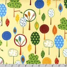 Robert Kaufman Animal Party Too Funky Tree Earth Fabric